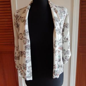 MAURICES BUTTERFLY BLAZER SMALL